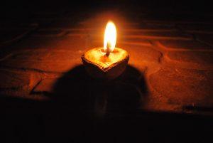 diya-oil lamp